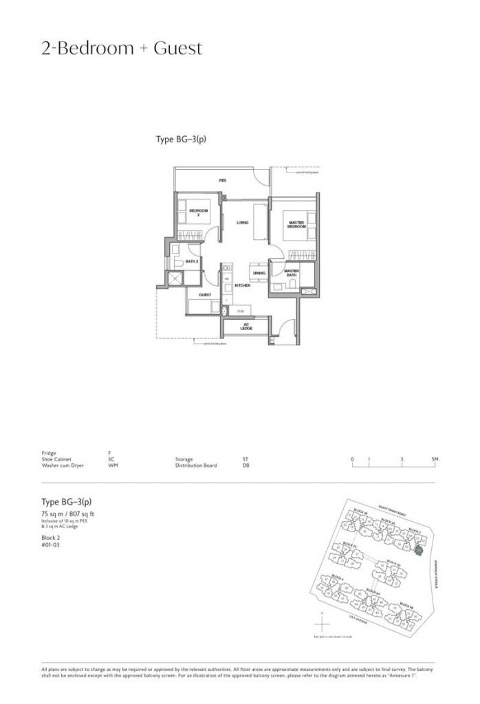 royalgreen-floor-plan-2-bedroom-guest-type-BG
